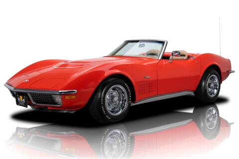 1970 Chevrolet Corvette for sale at RK Motors in Charlotte NC