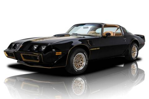 1979 Pontiac Firebird for sale at RK Motors in Charlotte NC