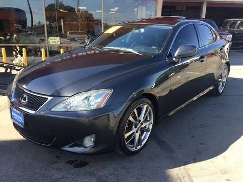 2008 Lexus IS 350 for sale in South Gate, CA