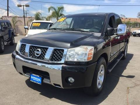2006 Nissan Titan for sale at Sanmiguel Motors in South Gate CA