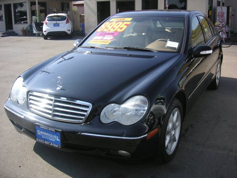 2004 Mercedes-Benz C-Class for sale at Sanmiguel Motors in South Gate CA