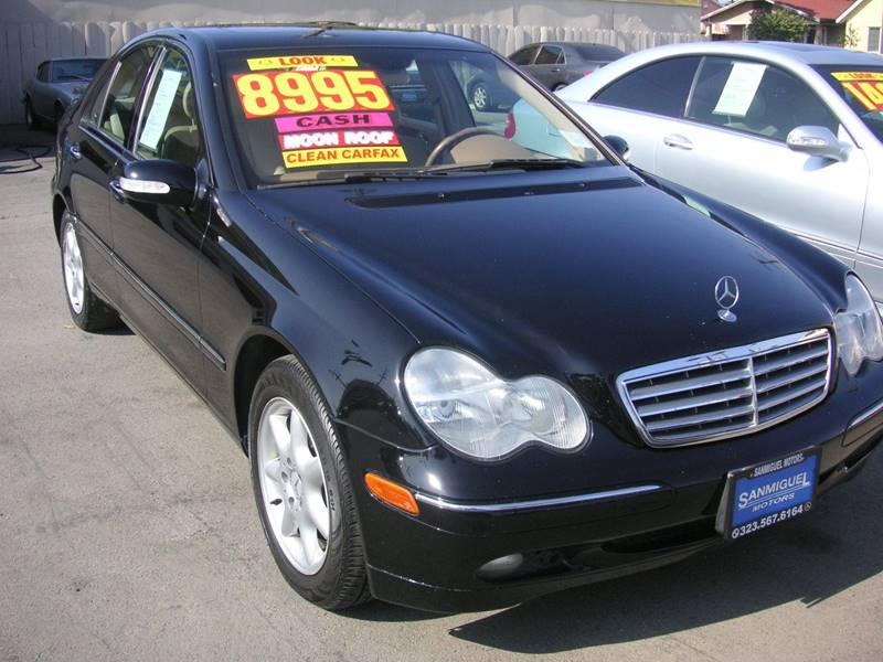 2004 Mercedes Benz C Class C 240 4dr Sedan In South Gate Ca