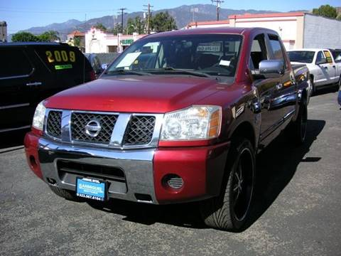 2004 Nissan Titan for sale at Sanmiguel Motors in South Gate CA