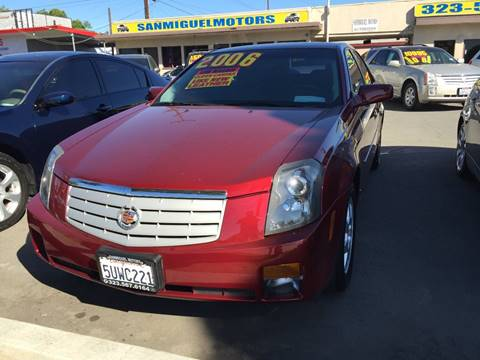 2006 Cadillac CTS for sale at Sanmiguel Motors in South Gate CA