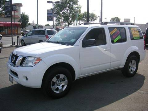 2008 Nissan Pathfinder for sale at Sanmiguel Motors in South Gate CA