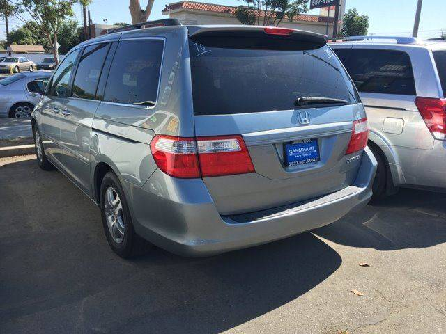 2005 Honda Odyssey for sale at Sanmiguel Motors in South Gate CA
