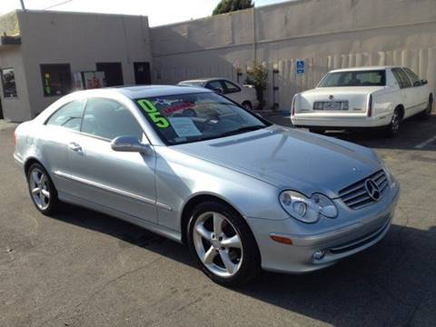 2005 Mercedes-Benz CLK for sale at Sanmiguel Motors in South Gate CA