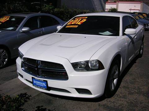 2012 Dodge Charger for sale at Sanmiguel Motors in South Gate CA