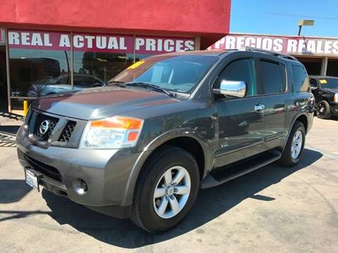 2008 Nissan Armada for sale at Sanmiguel Motors in South Gate CA