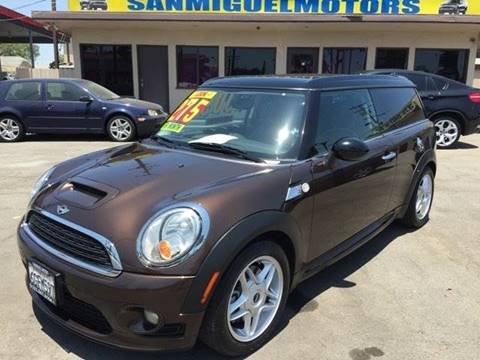 2009 MINI Cooper Clubman for sale at Sanmiguel Motors in South Gate CA