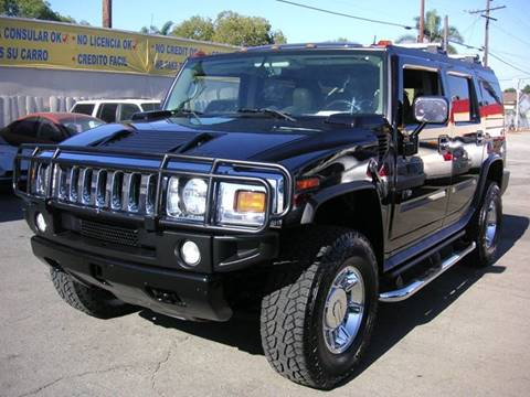 2004 HUMMER H2 for sale at Sanmiguel Motors in South Gate CA