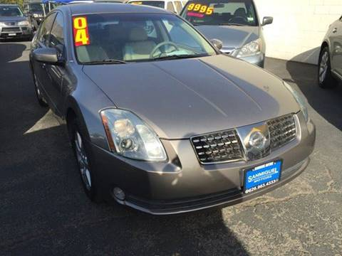 2004 Nissan Maxima for sale at Sanmiguel Motors in South Gate CA