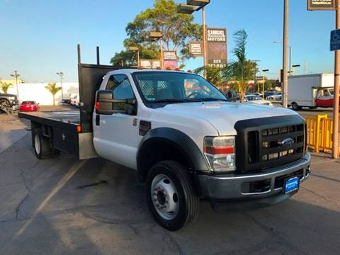 2009 Ford F-550 for sale at Sanmiguel Motors in South Gate CA