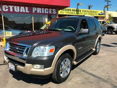 2007 Ford Explorer for sale at Sanmiguel Motors in South Gate CA