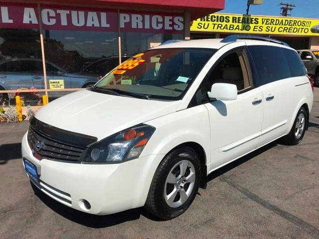 2009 Nissan Quest for sale at Sanmiguel Motors in South Gate CA