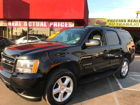 2009 Chevrolet Tahoe for sale at Sanmiguel Motors in South Gate CA