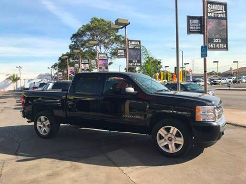 2010 Chevrolet Silverado 1500 for sale at Sanmiguel Motors in South Gate CA