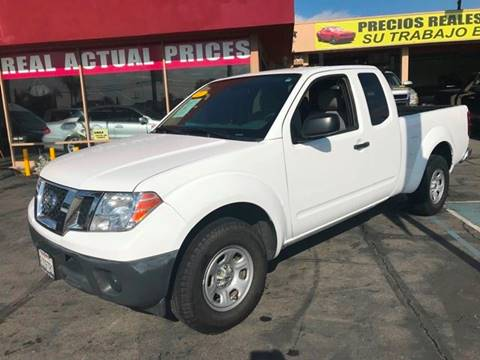 2011 Nissan Frontier for sale at Sanmiguel Motors in South Gate CA