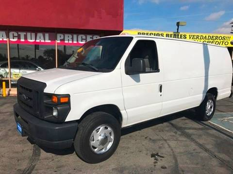 2010 Ford E-Series Cargo for sale at Sanmiguel Motors in South Gate CA