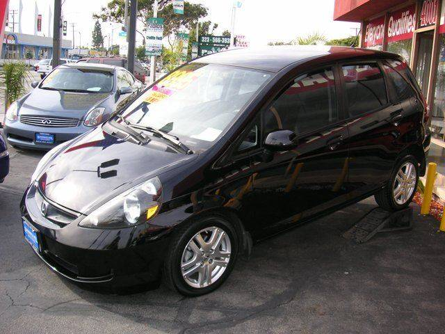 2008 Honda Fit for sale at Sanmiguel Motors in South Gate CA