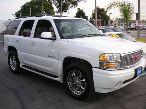 2003 GMC Yukon for sale at Sanmiguel Motors in South Gate CA