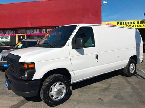 2014 Ford E-Series Cargo for sale at Sanmiguel Motors in South Gate CA