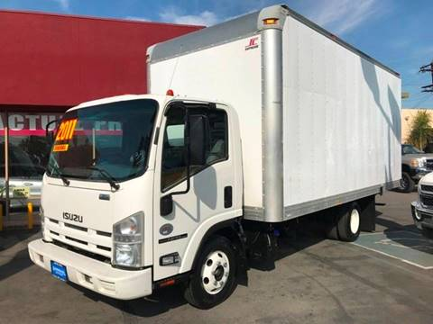 2011 Isuzu NPR for sale at Sanmiguel Motors in South Gate CA