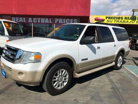 2007 Ford Expedition EL for sale at Sanmiguel Motors in South Gate CA