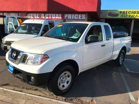 2013 Nissan Frontier for sale at Sanmiguel Motors in South Gate CA