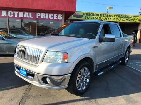 2006 Lincoln Mark LT for sale at Sanmiguel Motors in South Gate CA
