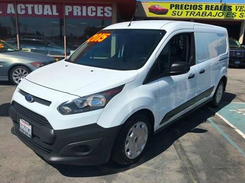 2015 Ford Transit Connect Cargo for sale at Sanmiguel Motors in South Gate CA