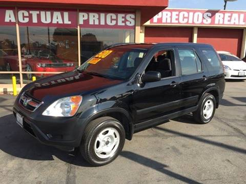 2003 Honda CR-V for sale at Sanmiguel Motors in South Gate CA