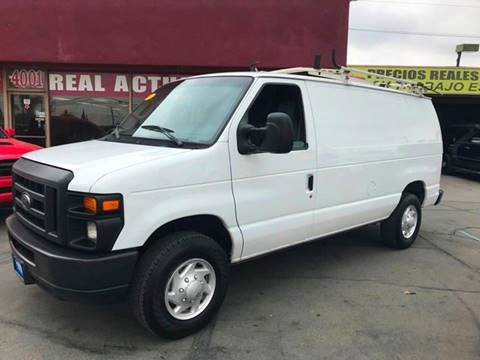 2009 Ford E-Series Cargo for sale at Sanmiguel Motors in South Gate CA