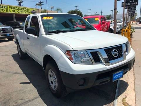 2014 Nissan Frontier for sale at Sanmiguel Motors in South Gate CA