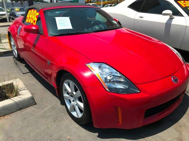 2004 Nissan 350z Enthusiast 2dr Roadster In South Gate Ca