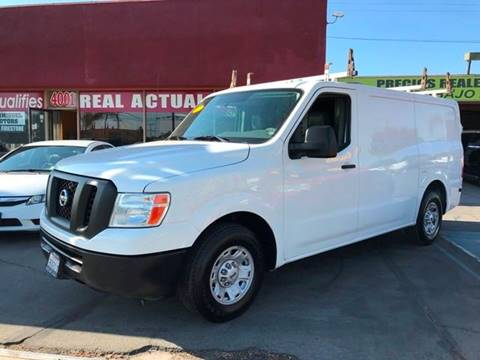 2012 Nissan NV Cargo for sale at Sanmiguel Motors in South Gate CA