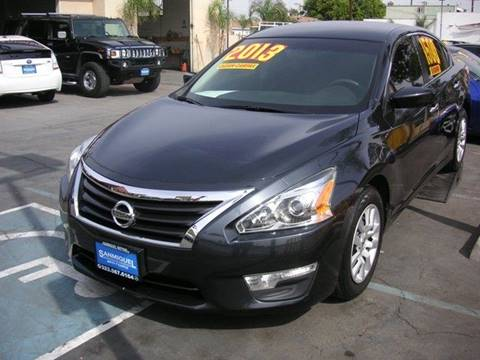 2013 Nissan Altima for sale at Sanmiguel Motors in South Gate CA