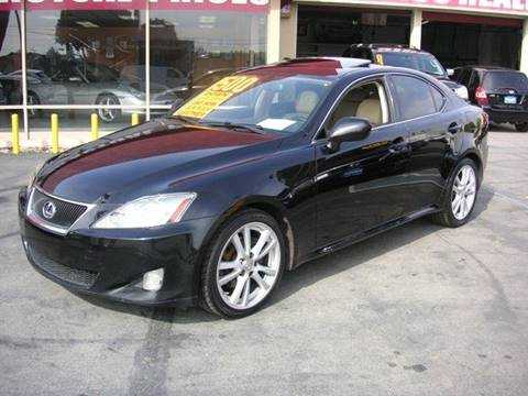 2007 Lexus IS 250 for sale at Sanmiguel Motors in South Gate CA