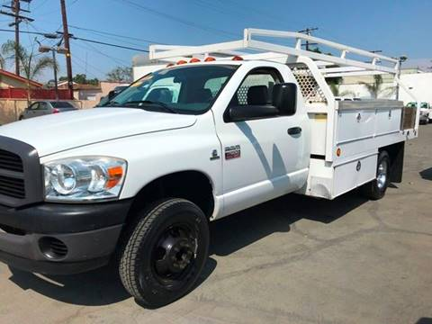2007 Dodge Ram Pickup 3500 for sale at Sanmiguel Motors in South Gate CA