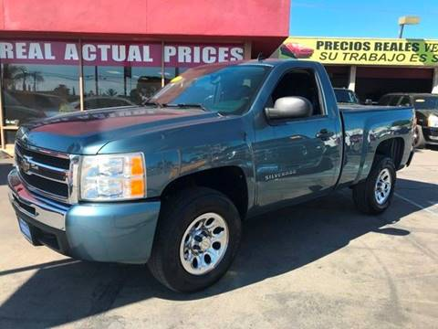 2011 Chevrolet Silverado 1500 for sale at Sanmiguel Motors in South Gate CA