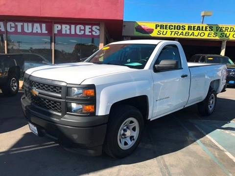 2014 Chevrolet Silverado 1500 for sale at Sanmiguel Motors in South Gate CA