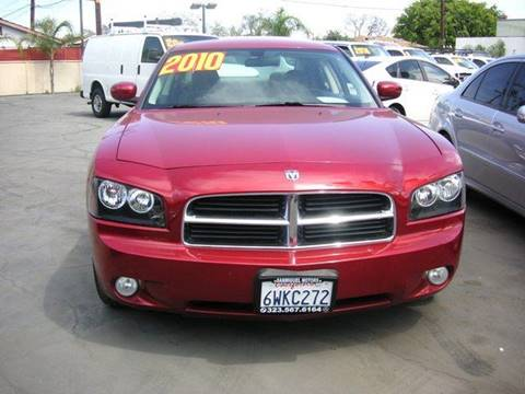 2010 Dodge Charger for sale at Sanmiguel Motors in South Gate CA