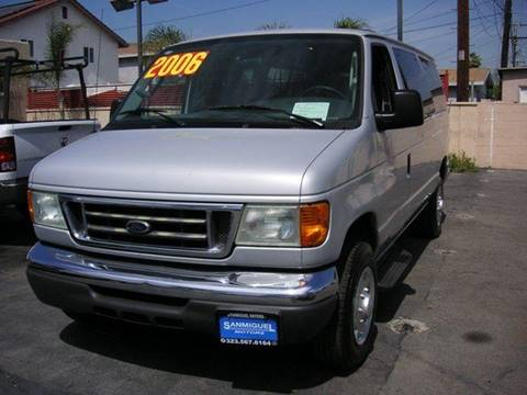 2006 Ford E-Series Wagon for sale at Sanmiguel Motors in South Gate CA