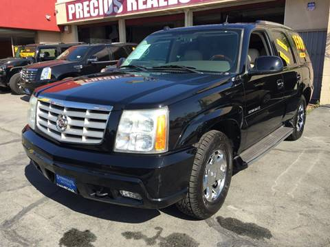 2005 Cadillac Escalade for sale at Sanmiguel Motors in South Gate CA