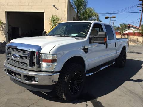 2008 Ford F-250 Super Duty for sale at Sanmiguel Motors in South Gate CA