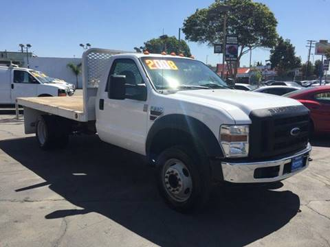 2008 Ford F-550 for sale at Sanmiguel Motors in South Gate CA