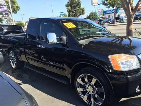 2008 Nissan Titan for sale at Sanmiguel Motors in South Gate CA