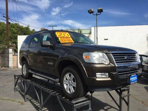 2008 Ford Explorer for sale at Sanmiguel Motors in South Gate CA