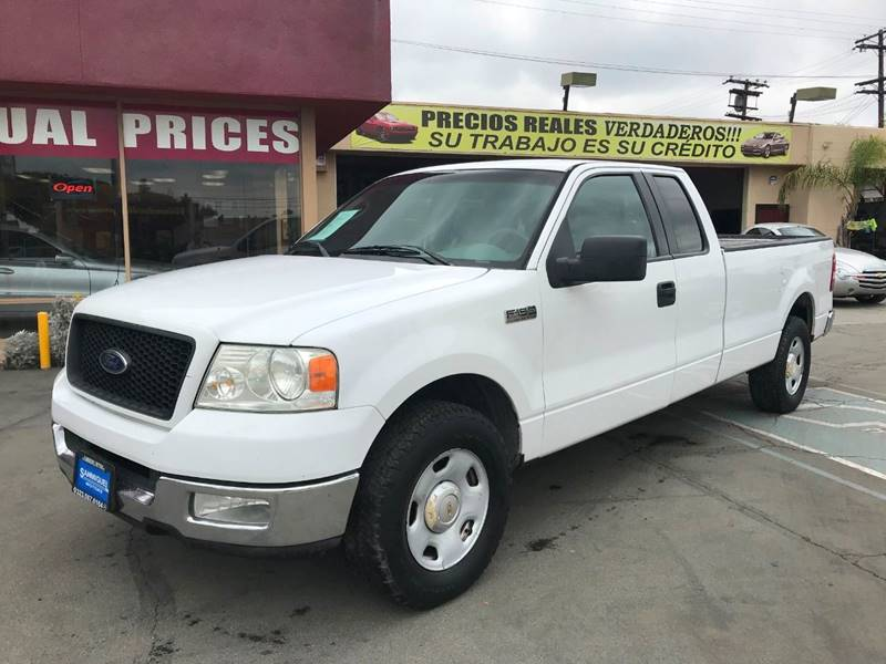 2005 Ford F 150 4dr Supercab Xlt Rwd Styleside 8 Ft Lb In