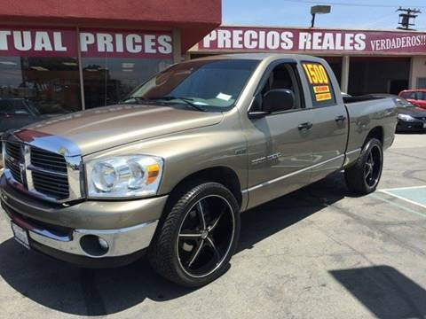 2007 Dodge Ram Pickup 1500 for sale at Sanmiguel Motors in South Gate CA
